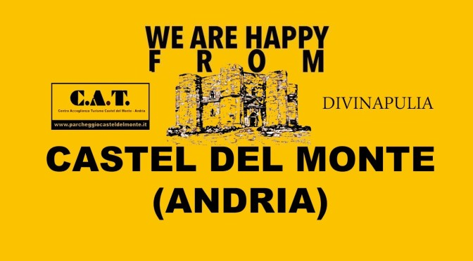 We Are Happy From CASTEL DEL MONTE (Andria) – Pharrell Williams #HAPPYDAY – video
